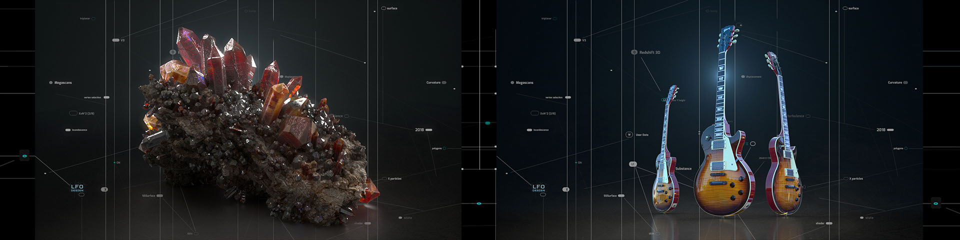 Complete List of Chapters Covered in Redshift 3D Course | LFO Design